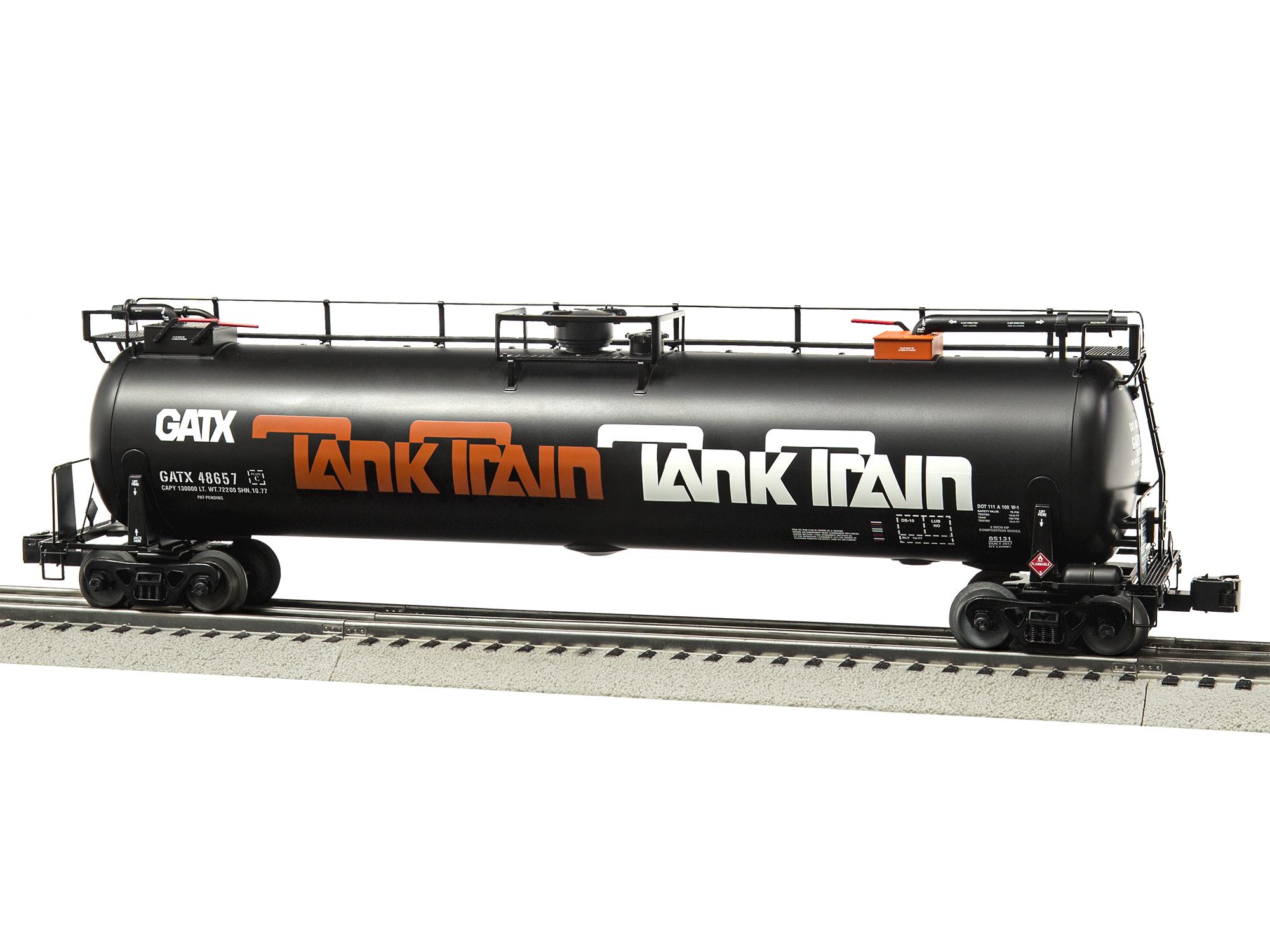 O TankTrain Intermediate Car, Orange#6