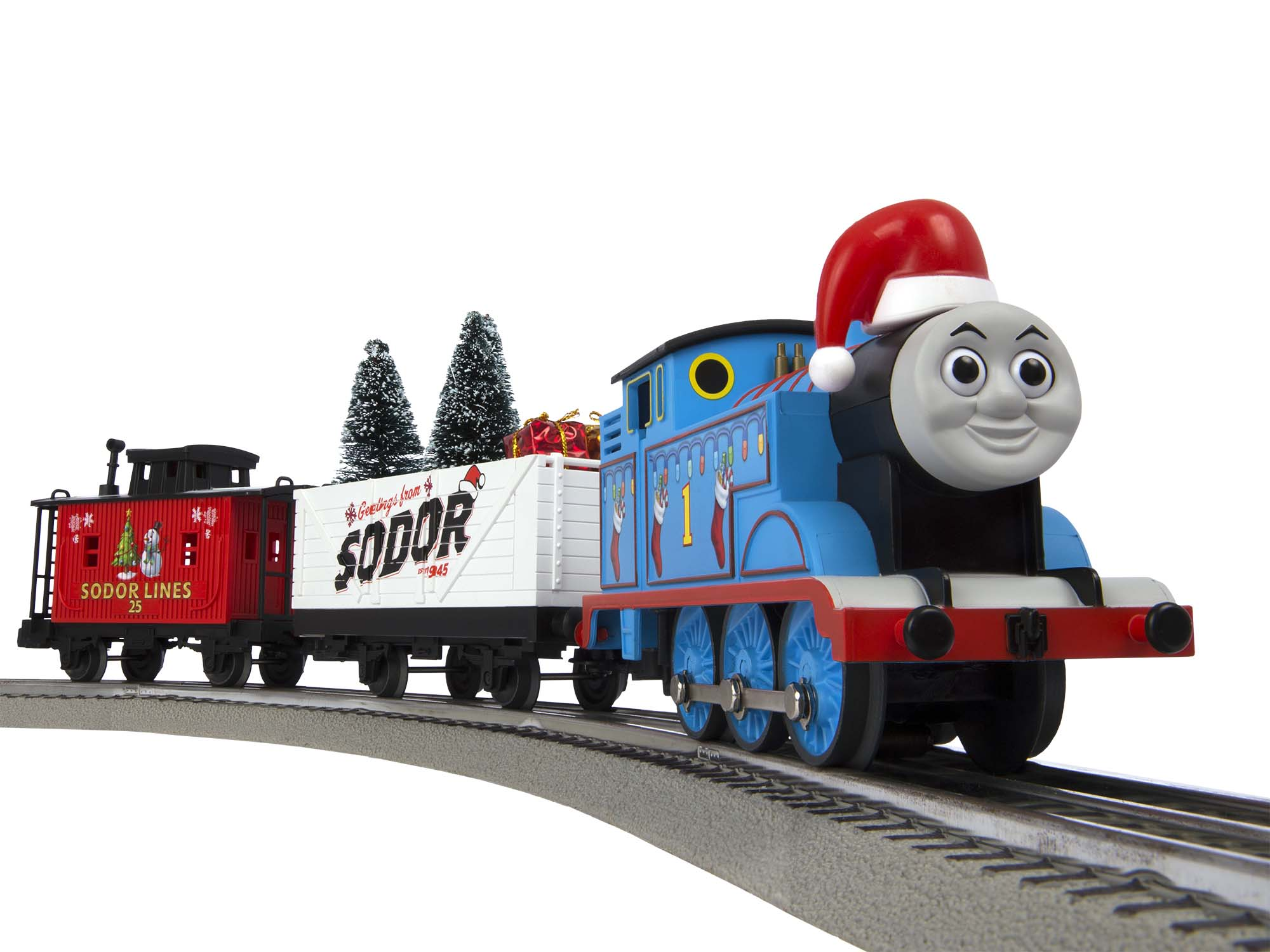 Lionel 685324 O Thomas and Friends Christmas Set LionChief Thomas