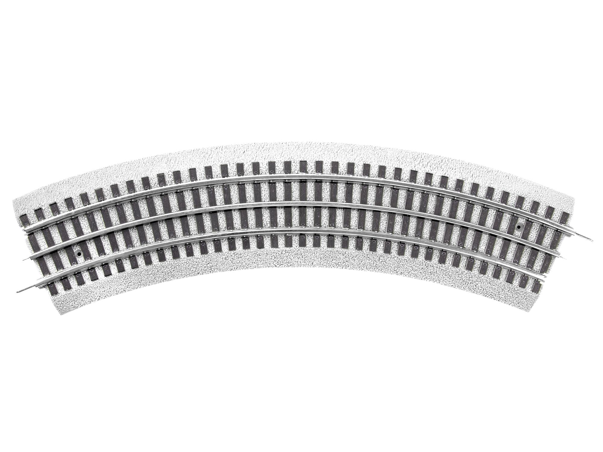 Lionel 685390 O O-36 Curve 4-Pack FasTrack Ballast