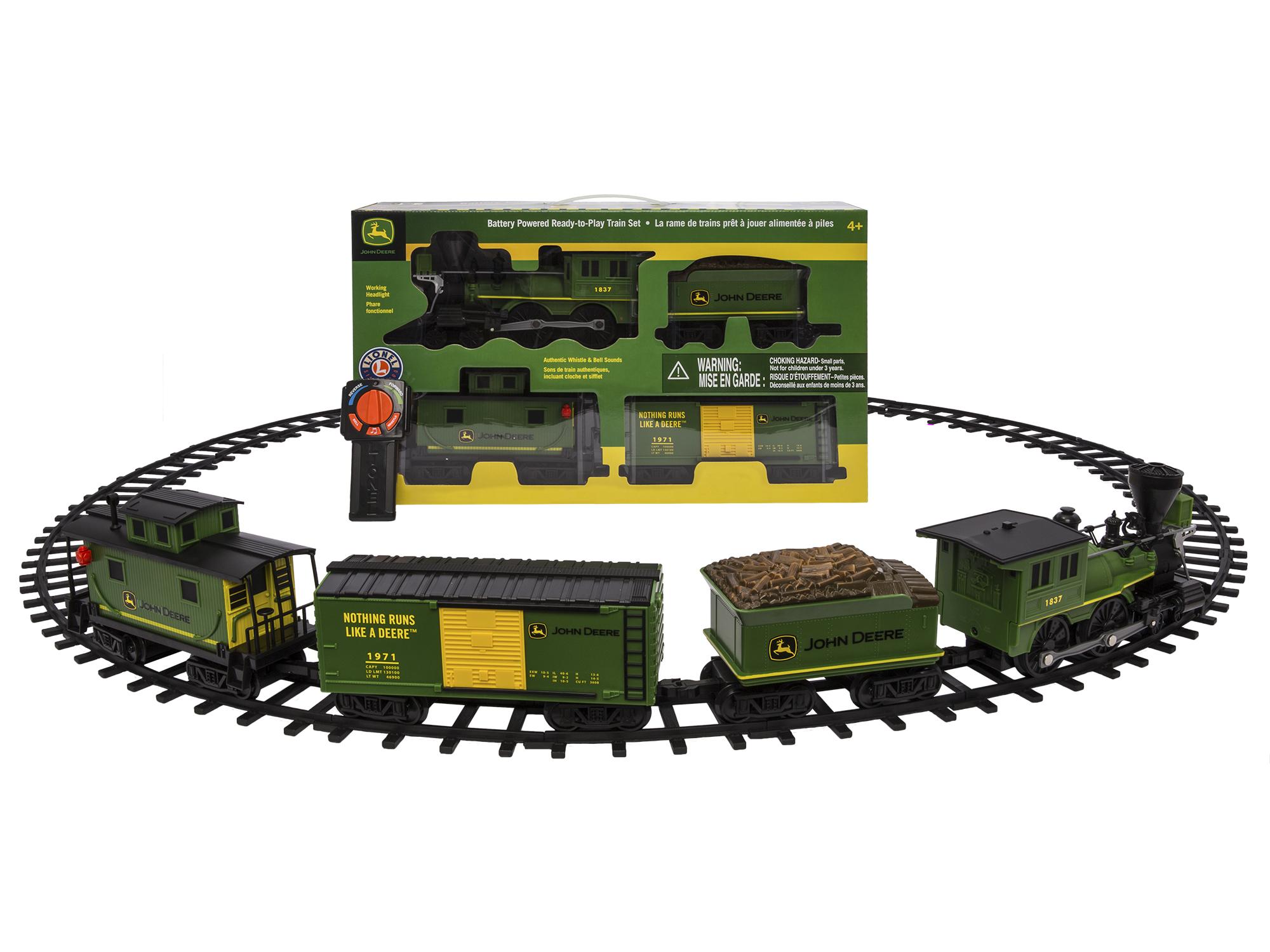John Deere Ready-to-Play Train Set