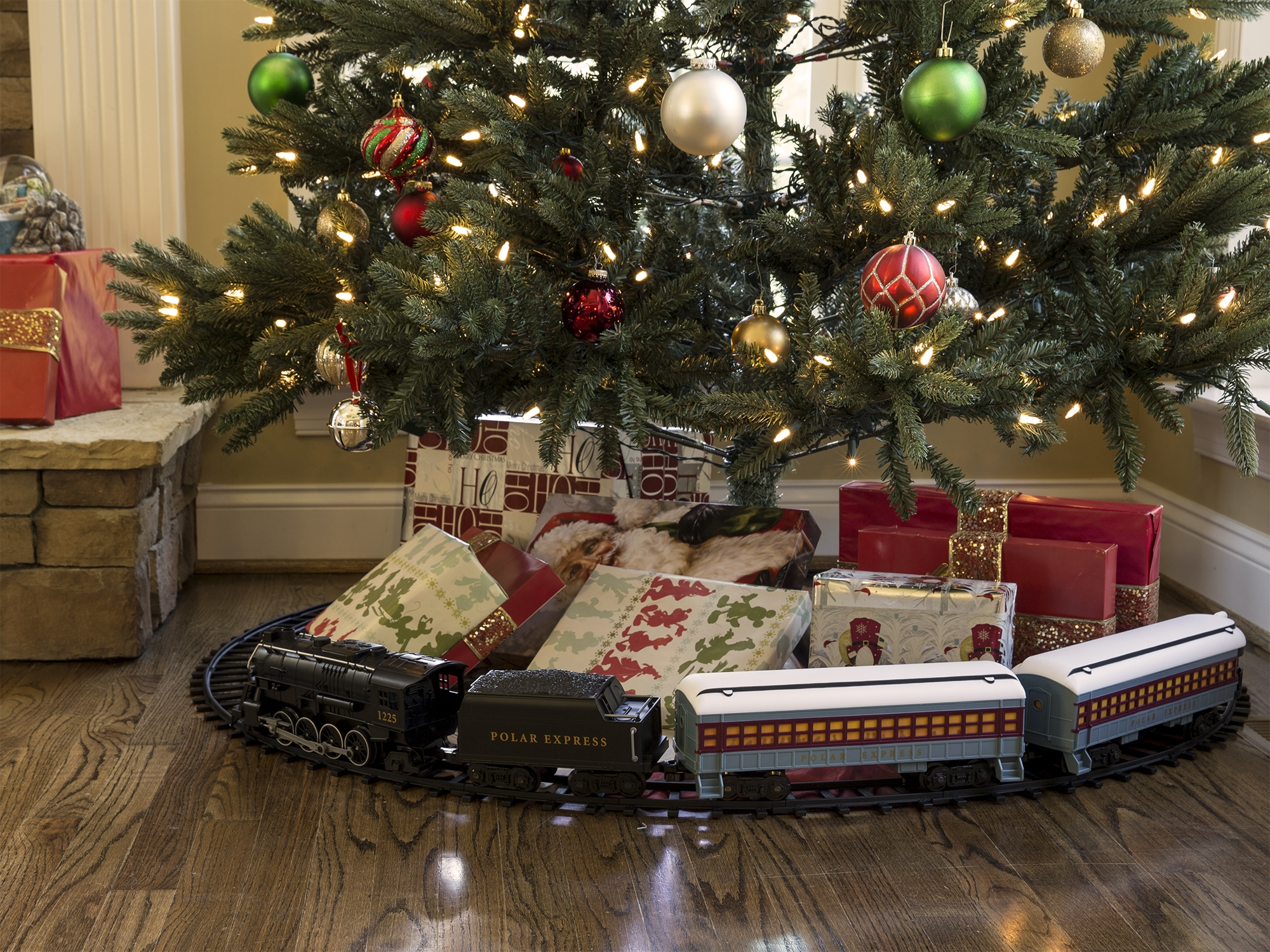 Other G Scale Polar Express Ready-to-play Train Set