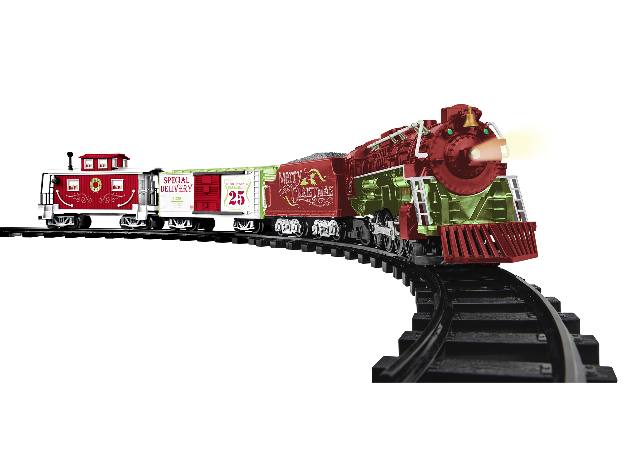 Lionel 711915 G Home For The Holiday Set Locomotive Tender 2 Cars